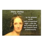 Writer Mary Shelley Postcards (Package of 8)