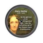Writer Mary Shelley Wall Clock