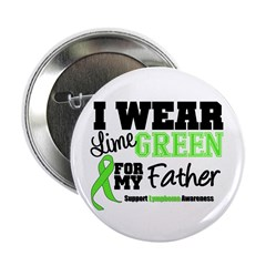"I Wear Lime Green Father 2.25"" Button (10 pack)"
