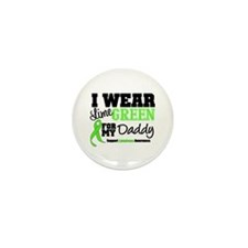 I Wear Lime Green Daddy Mini Button (10 pack)