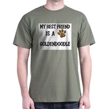 My best friend is a GOLDENDOODLE T-Shirt