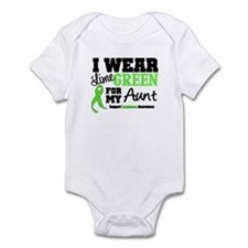 IWearLimeGreen Aunt Infant Bodysuit