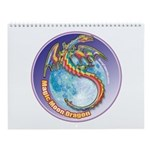 Magic Moon Dragon Wall Calendar