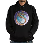 Magic Moon Dragon Hoodie (dark)