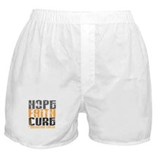 HOPE FAITH CURE Endometrial Cancer Boxer Shorts