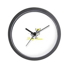 Cute Cow milk cheese Wall Clock