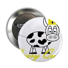 "Cute Cow milk 2.25"" Button"