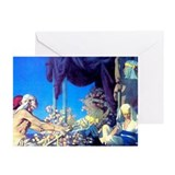 Maxfield Parrish Cleopatra Greeting Cards-Pk of 6