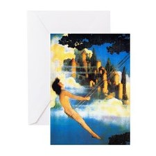 Maxfield Parrish Dinky Bird Cards-Pk of 10