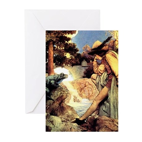 Maxfield Parrish Frog Prince Cards (Pk of 10)