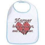Harper broke my heart and I hate her Bib
