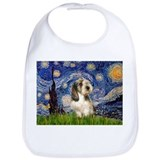 Starry Night Petit Basset (#4) Bib