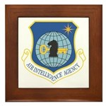 Air Intelligency Agency Framed Tile