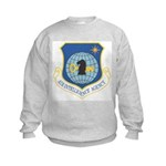 Air Intelligency Agency (Front) Kids Sweatshirt