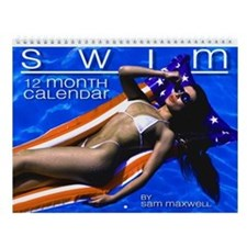 "Sam Maxwell's ""SWIM"" Swimsuit Pinup Wall Calendar!"