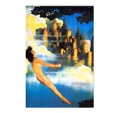 Maxfield Parrish Dinky Bird Postcards (Pkg of 8)