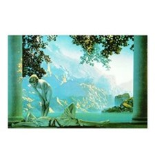 Maxfield Parrish Daybreak Postcards (Pkg of 8)