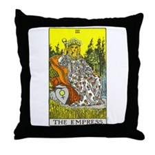 """The Empress"" Throw Pillow"