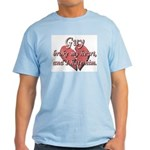 Guy broke my heart and I hate him Light T-Shirt