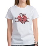 Guy broke my heart and I hate him Women's T-Shirt
