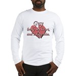 Guy broke my heart and I hate him Long Sleeve T-Sh