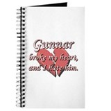 Gunnar broke my heart and I hate him Journal