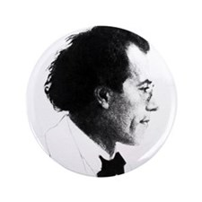 "Faces ""Mahler"" 3.5"" Button"