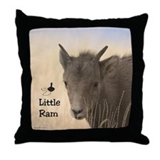 Sheep Throw Pillow (Little Ram)