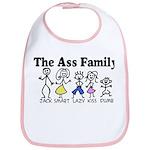 The Ass Family Bib