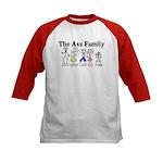 The Ass Family Kids Baseball Jersey