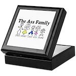 The Ass Family Keepsake Box