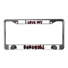 Anime Senegal License Plate Frame