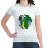 Cartoon Bird Senegal T