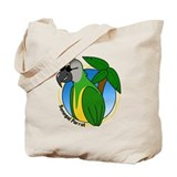 Cartoon Bird Senegal Tote Bag