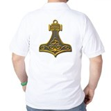 Thor's Hammer-gold T-Shirt