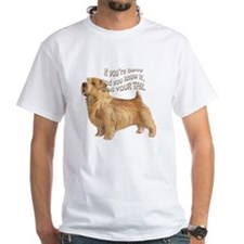 happy norfolk terrier Shirt