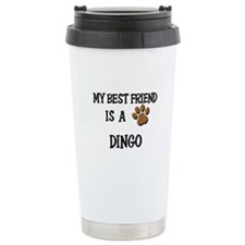 My best friend is a DINGO Ceramic Travel Mug