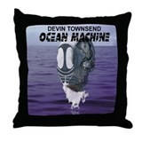 Ocean Machine Throw Pillow
