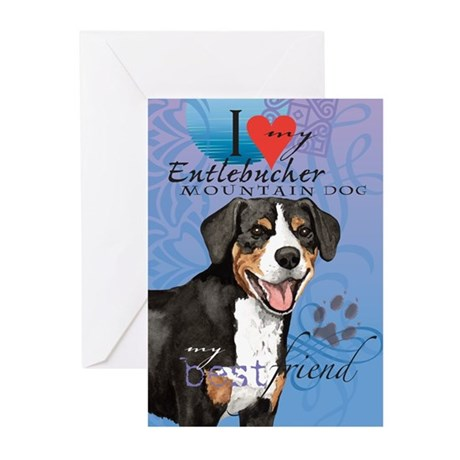 Entlebucher Mountain Dog Greeting Cards (Pk of 10)