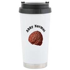 Abby Normal Ceramic Travel Mug