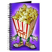 Cute Popcorn Journal