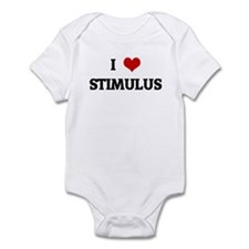 I Love STIMULUS Infant Bodysuit
