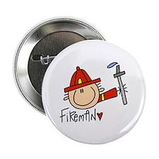 """Fireman 2.25"""" Button (100 pack)"""