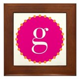 g~pink Framed Tile