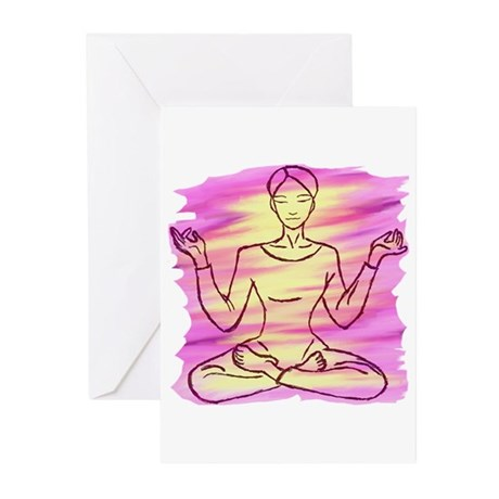Pretty Yoga Greeting Cards (Pk of 10)