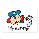 Policewoman Postcards (Package of 8)