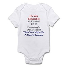 New Orleans and the South Infant Bodysuit