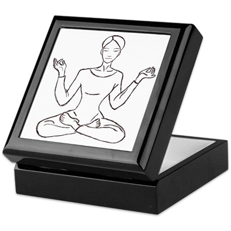 yoga class Keepsake Box