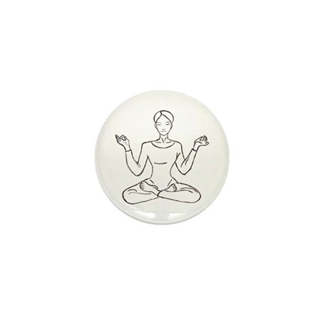 yoga class Mini Button (10 pack)
