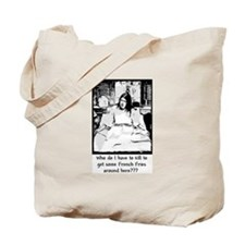 Ruby's Fries - two colors Tote Bag